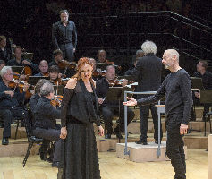 St Matthew Passion: Berliner Philharmoniker; Simon Rattle, conductor; Peter Sellars, director.